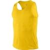 Майка л/а Nike Miler Singlet жёлтая - 1