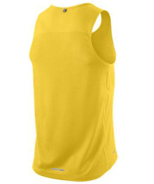 Майка л/а Nike Miler Singlet жёлтая - 2