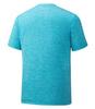 Mizuno Impulse Core Blocks Tee футболка для бега мужская голубая - 2