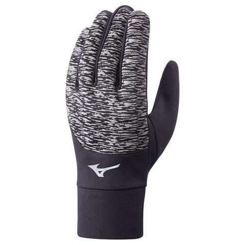Mizuno Windproof Glove перчатки утепленные черные