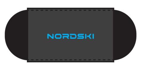 Nordski скрепки для лыж black-blue