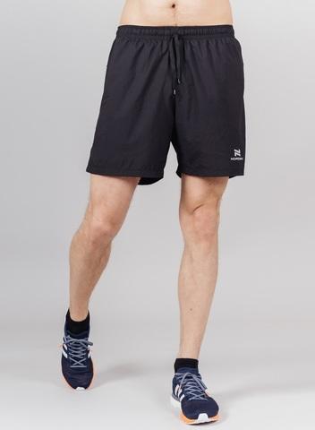 Nordski Pro шорты с лосинами мужские black