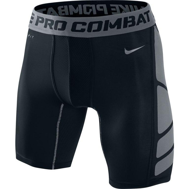 """Компрессионное белье - шорты Nike Hypercool Comp 6"""" Short чёрные"""