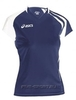 Asics T-Shirt Fanny Lady футболка волейбольная женская dark - 1