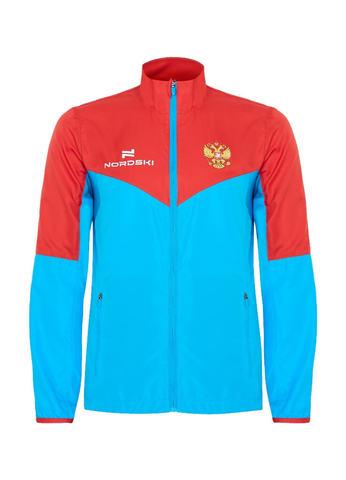 Nordski Sport куртка для бега мужская red-blue