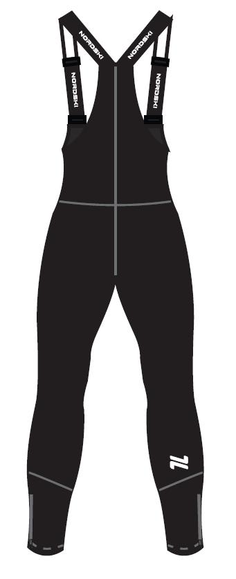 Nordski Jr Active лыжный костюм детский blue-black - 5