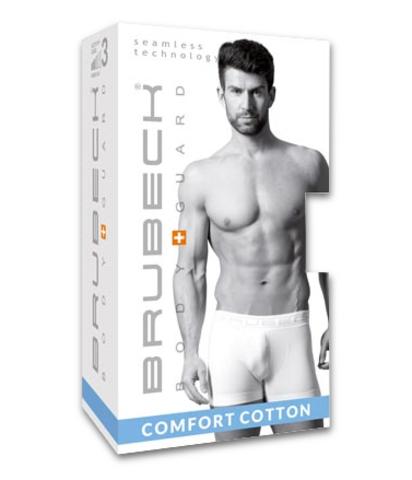 Brubeck Comfort Boxer трусы-боксеры мужские серые