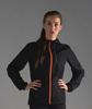 Nordski Jr Run костюм для бега детский черно-оранжевый - 4