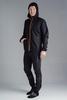 Nordski Jr Run костюм для бега детский черно-оранжевый - 1