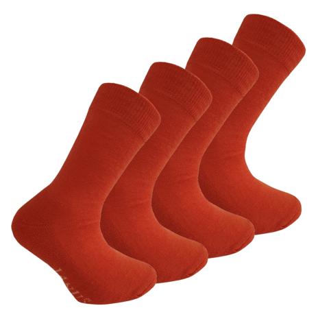 Janus детские термоноски комплект апельсиновые