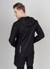 Nordski Run куртка для бега мужская Black-Blue - 2