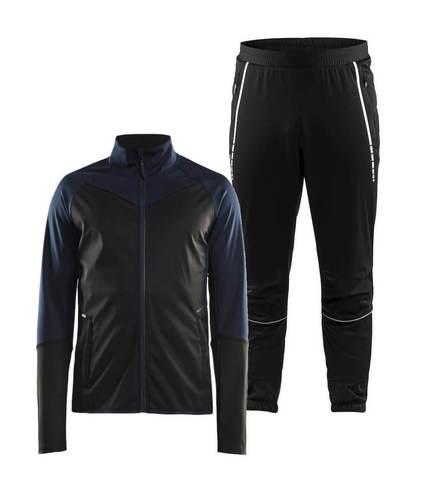 Craft Glide Club лыжный костюм мужской black-blue