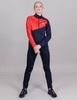 Nordski Jr Premium лыжный костюм детский blueberry-red - 1