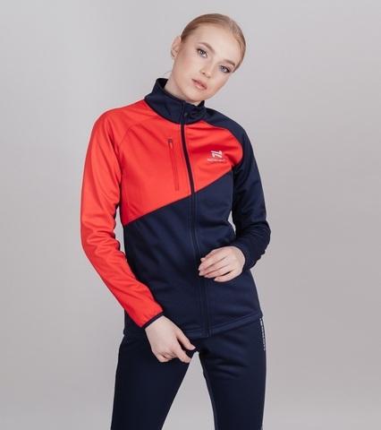 Nordski Jr Premium лыжный костюм детский blueberry-red
