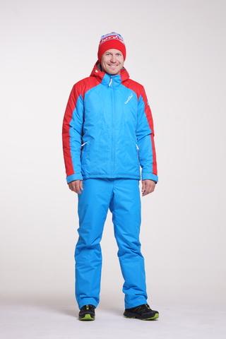 Nordski Jr National детский прогулочный костюм синий-красный