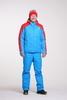 Nordski Jr National детский прогулочный костюм синий-красный - 1
