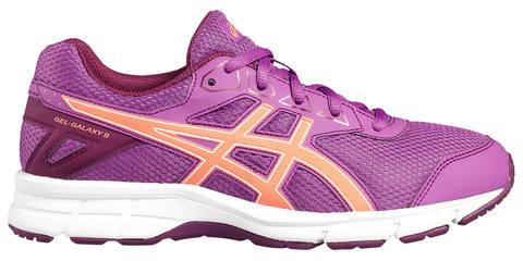 Asics Gel Galaxy 9 GS кроссовки для бега детские фиолетовые