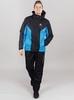 Nordski Base теплый костюм мужской black-blue - 1
