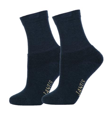 Janus детские термоноски махровые темно-синие