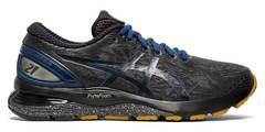 Asics Gel Nimbus 21 Winterized утепленные кроссовки для бега мужские черные