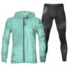 Asics Packable Base Layer Graphic костюм для бега мужской голубой-черный - 1