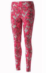 Тайтсы женские Mizuno Premium Aero Long розовые