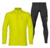 Asics Running Moving костюм для бега мужской желтый-черный - 1