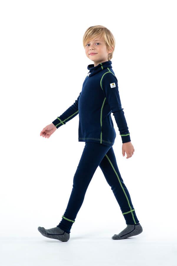 Janus комплект термобелья детский navy - 5