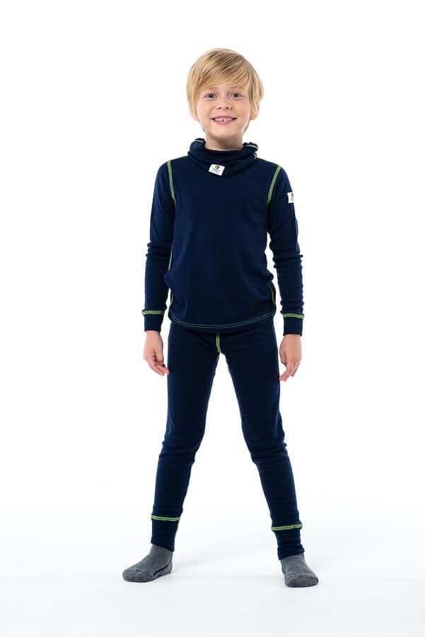 Janus комплект термобелья детский navy