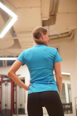 Nordski Sport футболка женская light blue