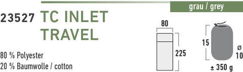 High Peak TC Inlett Travel вкладыш в спальный мешок