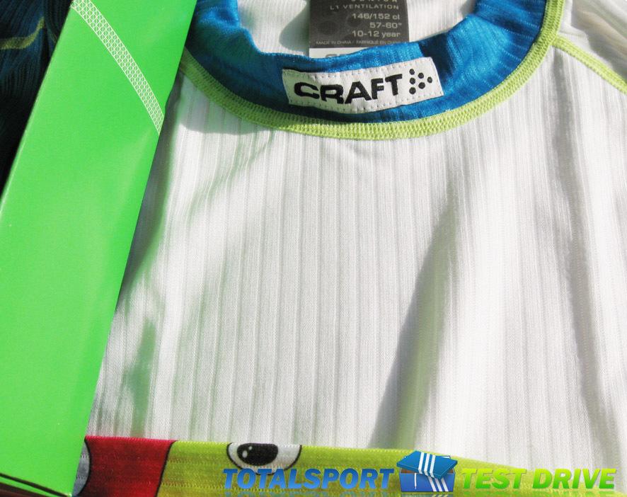 Комплект термобелья Craft Active Multi Print детский - 2