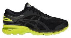 Asics Gel Kayano 25 2E мужские кроссовки для бега черные-желтые
