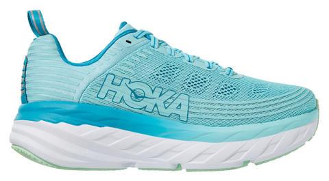 Hoka One One Bondi 6 кроссовки для бега женские голубые