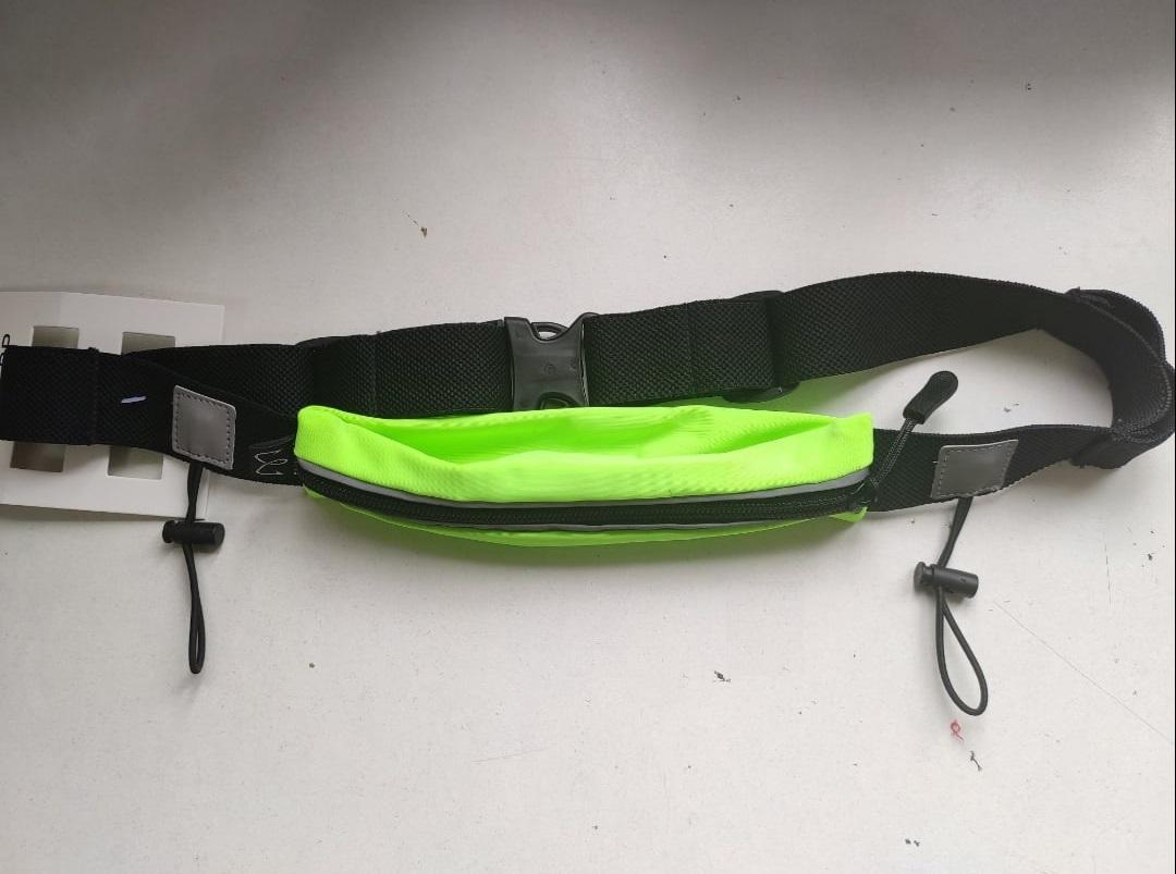 Поясная сумка для бега Enklepp Run Belt Fast green