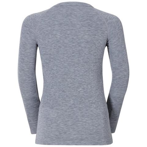 Odlo Warm детское термобелье рубашка серый меланж
