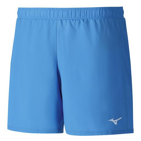 Mizuno Core Square 5.5 шорты для бега мужские голубые