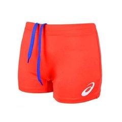 Asics Russia Short женские волейбольные шорты красные