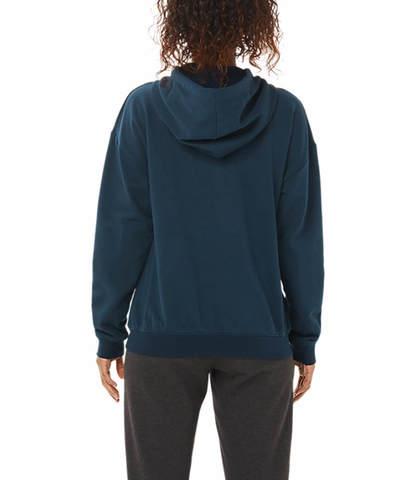 Asics Big Oth Hoodie толстовка женская темно-синяя