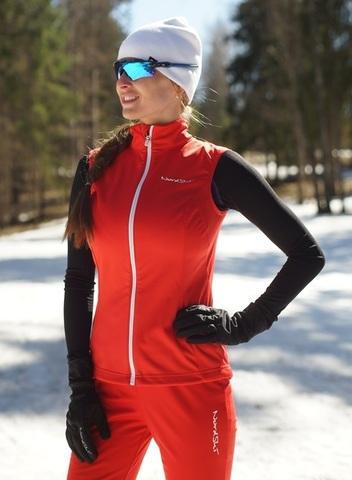 Nordski Россия лыжный жилет женский