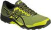 Кроссовки внедорожники мужские Asics Gel Fujitrabuco 6 черные-желтые - 1