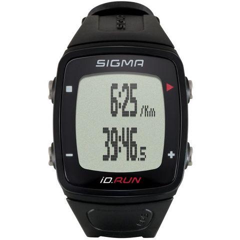 Sigma ID.RUN HR спортивные часы black