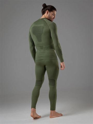 V-MOTION Tactic мужское термобелье комплект зеленый