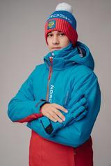 Nordski Jr Montana прогулочная куртка детская blue-red
