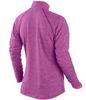 Футболка Nike Element 1/2 ZIP (W) /Рубашка беговая сиреневая - 2