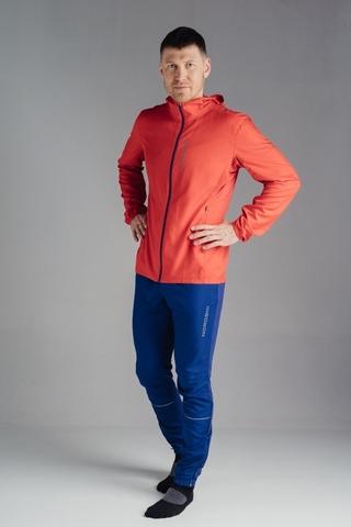Nordski Run костюм для бега мужской red-navy