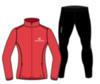 Nordski Motion Premium беговой костюм женский Red-Black - 3