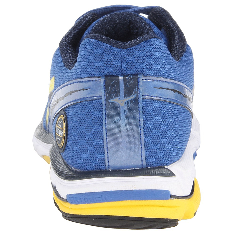 Mizuno Wave Rider 17 кроссовки для бега синие - 4