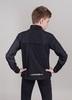 Nordski Jr Motion куртка для бега детская Black/Yellow - 2