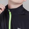 Nordski Jr Motion куртка для бега детская Black/Yellow - 4